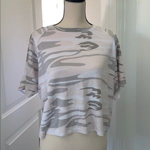 Z Supply pink camo jersey tee